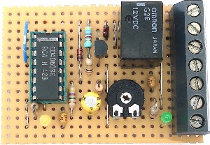 the diode d1 makes this a one-shot timer  this means that after the  programmed time delay of 3 hours, the relay will stay on until the circuit  is reset