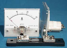 0-30A Ammeter with Shunt resistor