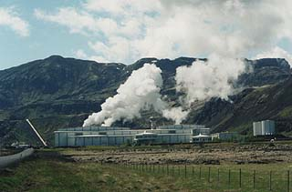 Nesjavellir Geothermal Power Plant in Iceland