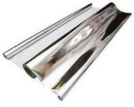 Aluminiumised mylar sheet for use in a concentrated solar power trough collector