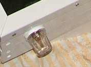 Bleed valve protected using a small jam jar