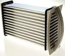 Condenser tumble dryer heat exchanger