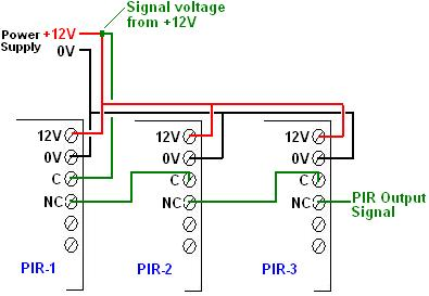 Wiring 2 Pir Sensors Diagram - Wiring Diagrams Recent on