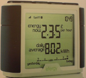 efergy elite wireless electricity monitor