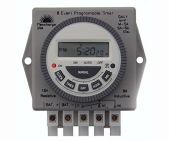 Digital 12 Volt Programmable Timer Switch