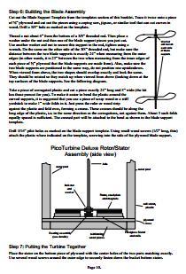 Free VAWT wind turbine plans