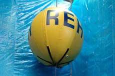 Hypalon floating bladder for CETO II