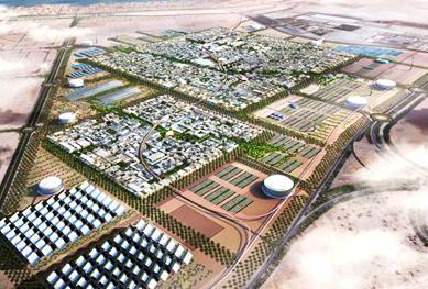 Masdar City - Abu Dhabi - World's first zero carbon zero waste city