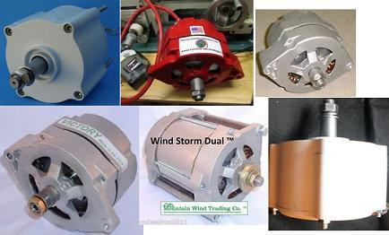 Permanent magnet generators and alternators suitable for use with wind turbines and waterwheels etc
