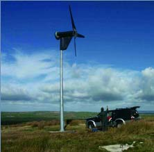 Proven 6kW Wind Turbine Generator Installed in Scotland