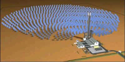 PS10 Solar Power Plant