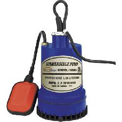 Submersible pump with integrated float switch