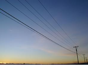 Reducing line losses in renewable energy systems