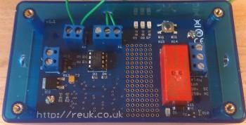 REUK Super LDR light detector dawn/dusk light/dark relay controller