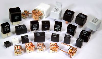 Selection of automotive relays