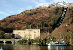 Sloy pumped hydro power station