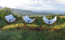 Solar collectors in Lesotho