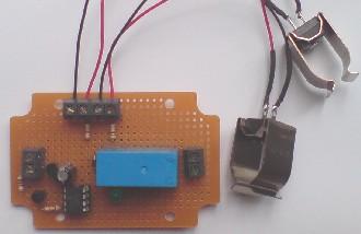 Solar pump controller which uses pipe-clip temperature sensors (thermistors)