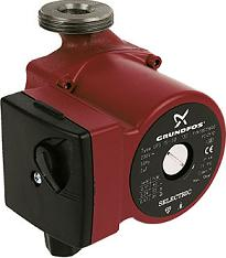 Solar water heating circulation pump - mains powered