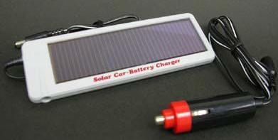 12V 1.5 Watt solar car-battery charger