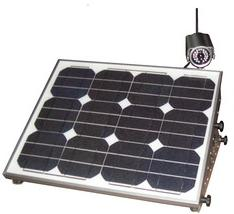 Solcam solar powered wireless IP camera