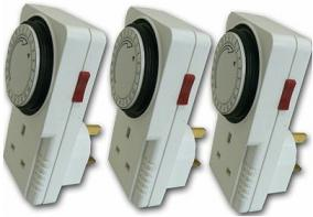 Timers for use with surplus solar immersion controller and other appliances