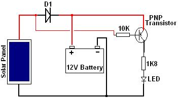 use solar panel as darkness detector reuk co uk solar power circuit diagram solar panel led driver circuit