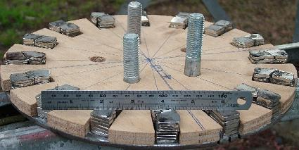 Wind turbine rotor with hard drive magnets