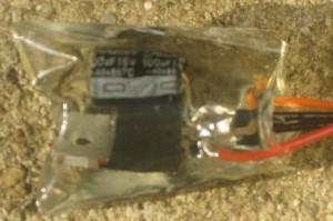 12 Volt low dropout regulator encased in epoxy
