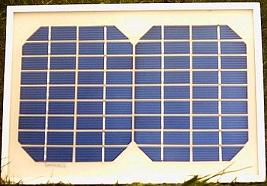 5 Watt 12V solar panel