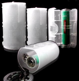 AA To C And D Battery Adapters