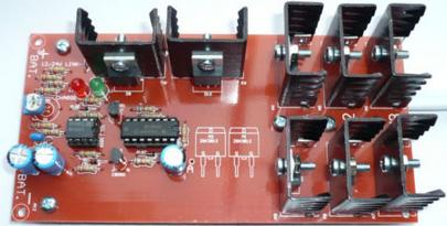 AC wind turbine charge controller regulator