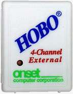 HOBO 4-channel external data logger