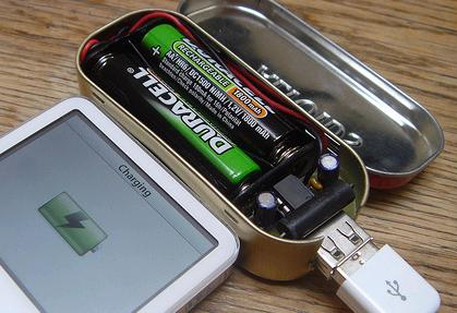 MintyBoost Small USB Battery Powered Charger