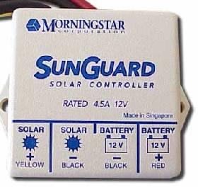 SunGuard 4.5 Amp Solar Charger Controller