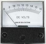 Analogue moving coil voltmeter