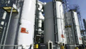Biogas already in use at Davyhulme sewage works in Manchester