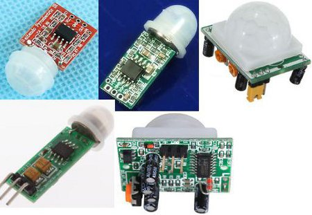 Range of cheap pir modules with high output on motion detection