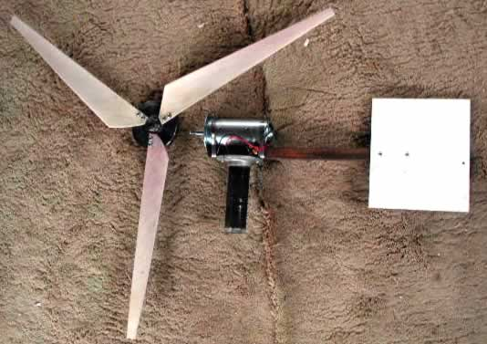 Homemade Wind Turbine Generator Motor Learn How Energy Powers