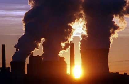 Coal fired power stations - carbon emissions