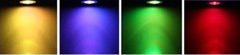 Colour change lightbulb