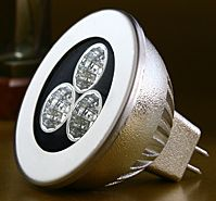 Cree 3x1W MR16 Low Voltage LED spotlight bulb