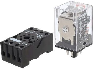 10 Amp rated 220-240VAC coil DPDT relay