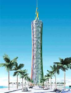 Burj al-Taqa Energy Tower, Dubai