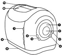 Ecolectric Toaster Schematic from the Instruction Manual