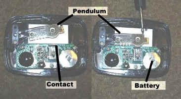 Inside a Pedometer
