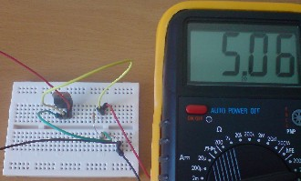 Voltage limiting circuit for iPod solar charger