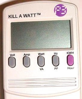 Kill-a-Watt Power Meter