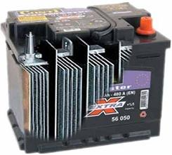 Lead plates in a lead acid battery - battery desulfation