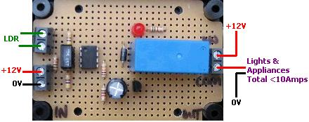 Buy Light Dark Sensor Circuit Relay | REUK.co.uk